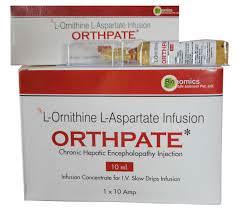SỐC PHẢN VỆ LIÊN QUAN ĐẾN CÁC THUỐC CHỨA L-ORNITHIN L-ASPARTAT