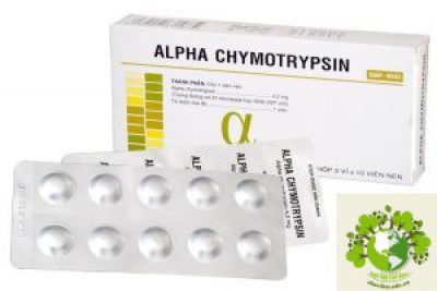 Thuốc Alpha choay (Alpha chymotrypsine)