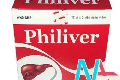 Thuốc Philiver là thuốc gì? giá bao nhiêu? có tác dụng gì?