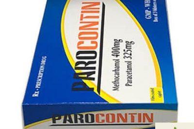 Thuốc Parocontin là thuốc gì? có tác dụng gì? giá bao nhiêu?