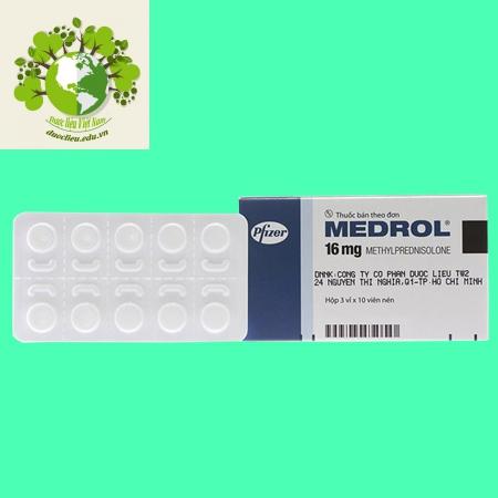 Sản phẩm Medrol 16 mg