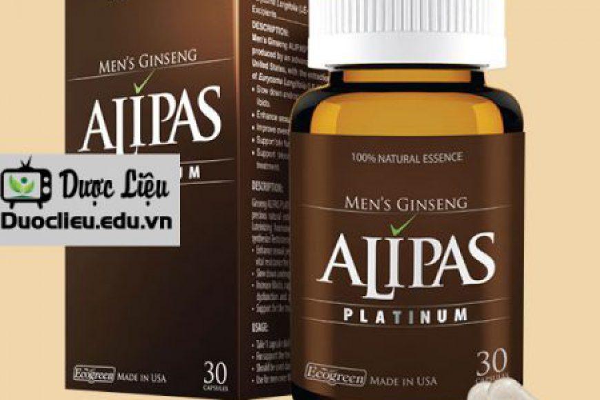 Sâm Alipas tăng cường sinh lý nam