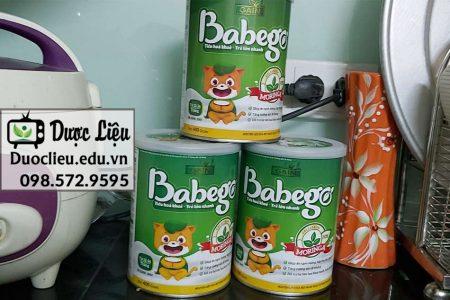 Sữa Babego được bán ở nhiều nơi