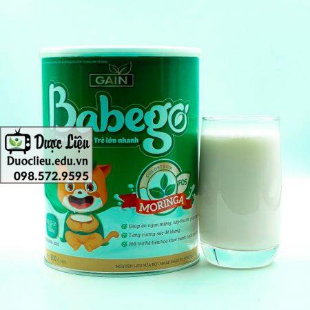 Sữa Babego được nhiều người tin dùng