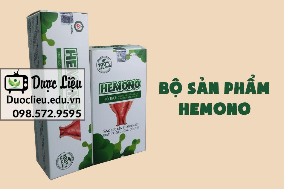 Hình ảnh bộ sản phẩm Hemono