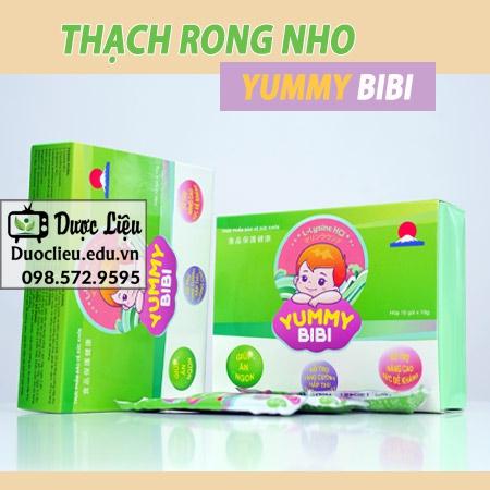 Thạch rong nho Yummy BiBi là gì?