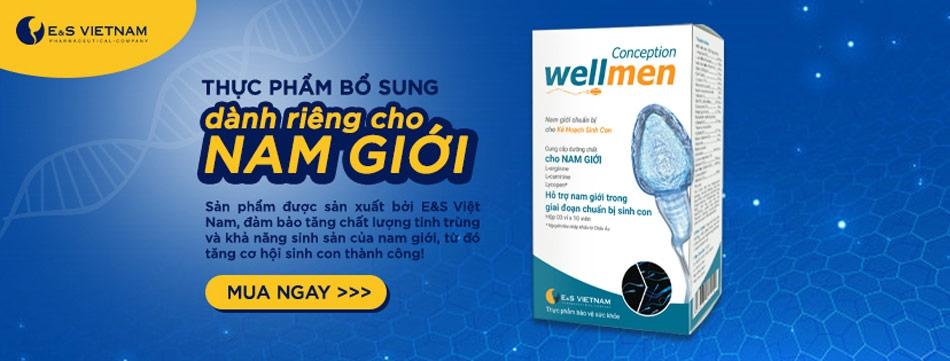 Thực phẩm bổ sung dành riêng cho nam giới Wellmen Bổ tinh trùng( Wellmen Conception)